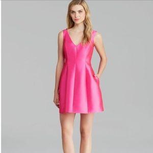 Kate Spade Mini Silk Pink Dress